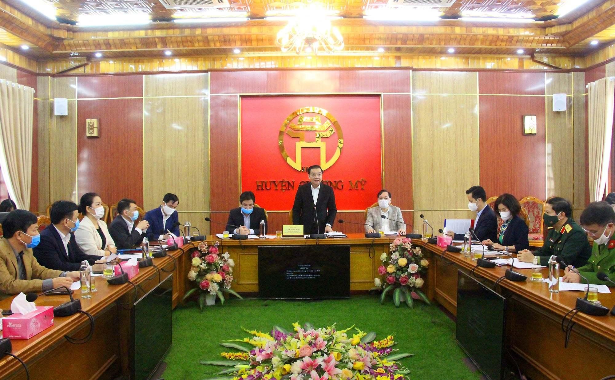 Chủ tịch TP Hà Nội thị sát, yêu cầu giám sát chặt F1, F2