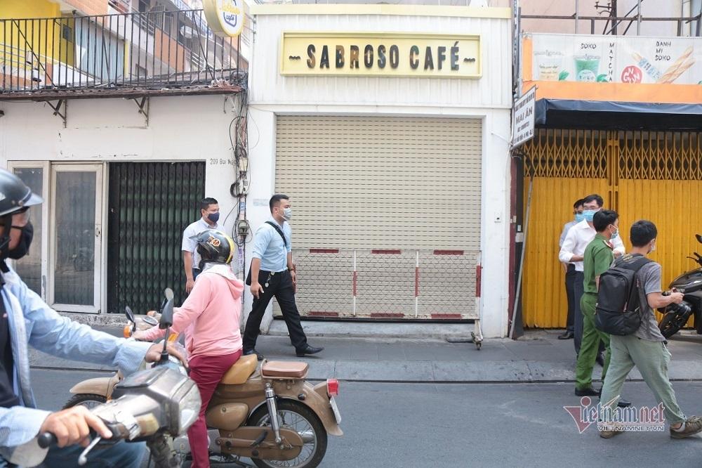 Quán cà phê phố Bùi Viện bị phong tỏa vì bệnh nhân 1883 từng ghé