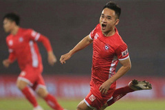 Midfielder Nguyen, a rising star of Hai Phong