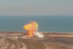 Xem tàu vũ trụ nổ tung, thiêu rụi 2 triệu đô trong chớp mắt