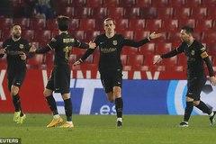 """Song tấu Messi - Griezmann giúp Barca ngược dòng """"điên rồ"""""""
