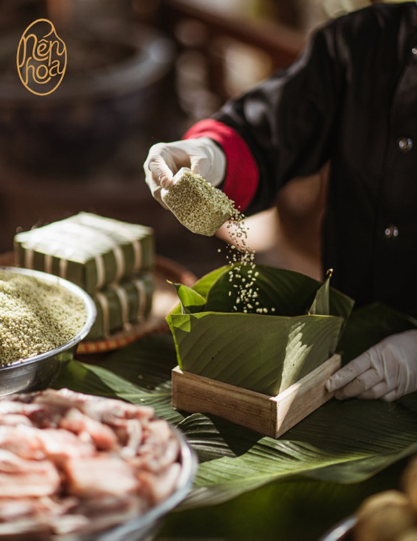 2 ưu điểm giúp bánh chưng Nếp Hoa 'đốn tim' sao Việt