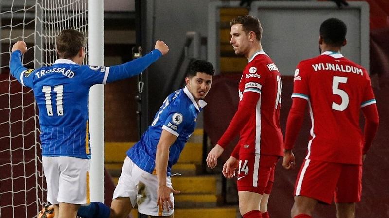 Klopp giải thích lý do Liverpool thua sốc Brighton
