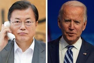Cam kết của Tổng thống Hàn Quốc khi điện đàm với ông Biden