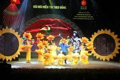 Đăng Dương, Phạm Thu Hà hát chương trình 'Mãi mãi niềm tin theo Đảng'