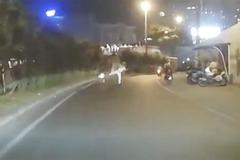 Xác minh vụ CSGT vung chân làm thanh niên ngã ra đường