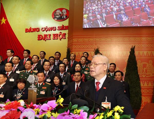 nguyen phu trong,national party congress