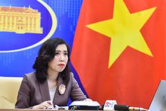 Yêu cầu các nước tôn trọng chủ quyền của Việt Nam ở Biển Đông