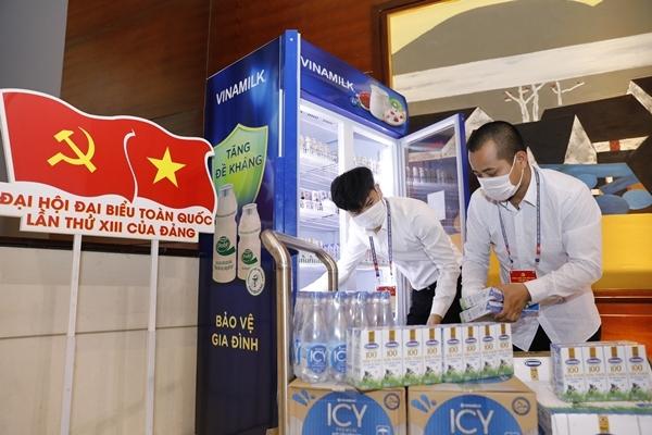 Sản phẩm Vinamilk được chọn phục vụ các sự kiện lớn của quốc gia