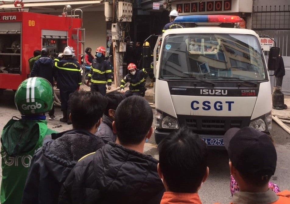 Đốt vàng mã gây cháy phòng trọ, bốn người tử vong ở Hà Nội