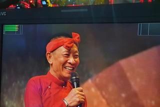 Nhà báo Lại Văn Sâm bất ngờ hoá hề chèo trong '12 con giáp'