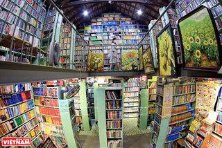 Oldest bookstore on Hanoi's Dinh Le Street