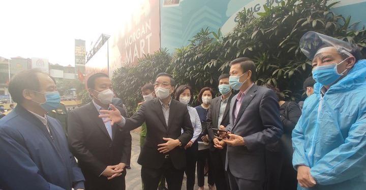 Kiểm tra toà nhà 88 Láng Hạ, Chủ tịch Hà Nội ra chỉ đạo 'nóng'