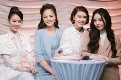 Lương Thu Trang, Thu Quỳnh, Hồng Diễm, Quỳnh Kool xinh đẹp bên nhau