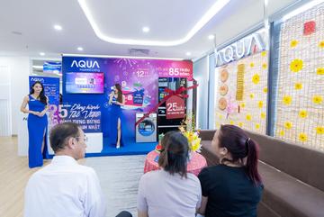 Aqua Việt Nam trao lộc tri ân khách hàng mừng xuân Tân Sửu