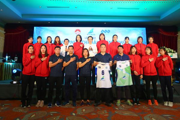 Ra mắt đội bóng chuyền nữ Bamboo Airways Vĩnh Phúc