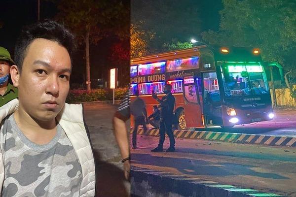 CSGT Bình Thuận chặn bắt kẻ trốn trại ở Hải Phòng đi xe khách vào Nam