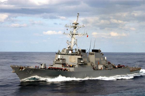 Mỹ điều chiến hạm đến Biển Đông bảo vệ tự do hàng hải