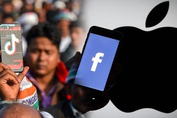 Facebook tuyên chiến Apple, TikTok 'cay đắng' rút khỏi Ấn Độ