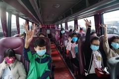 'Chuyến xe 0 đồng' đưa 3.000 công nhân ở Đà Nẵng về quê ăn Tết
