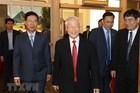 Hình ảnh lễ công bố quyết định phân công Ủy viên Bộ Chính trị