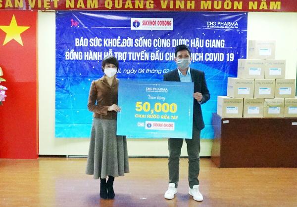 50.000 chai gel rửa tay khô Bioskin hỗ trợ 3 tỉnh chống dịch