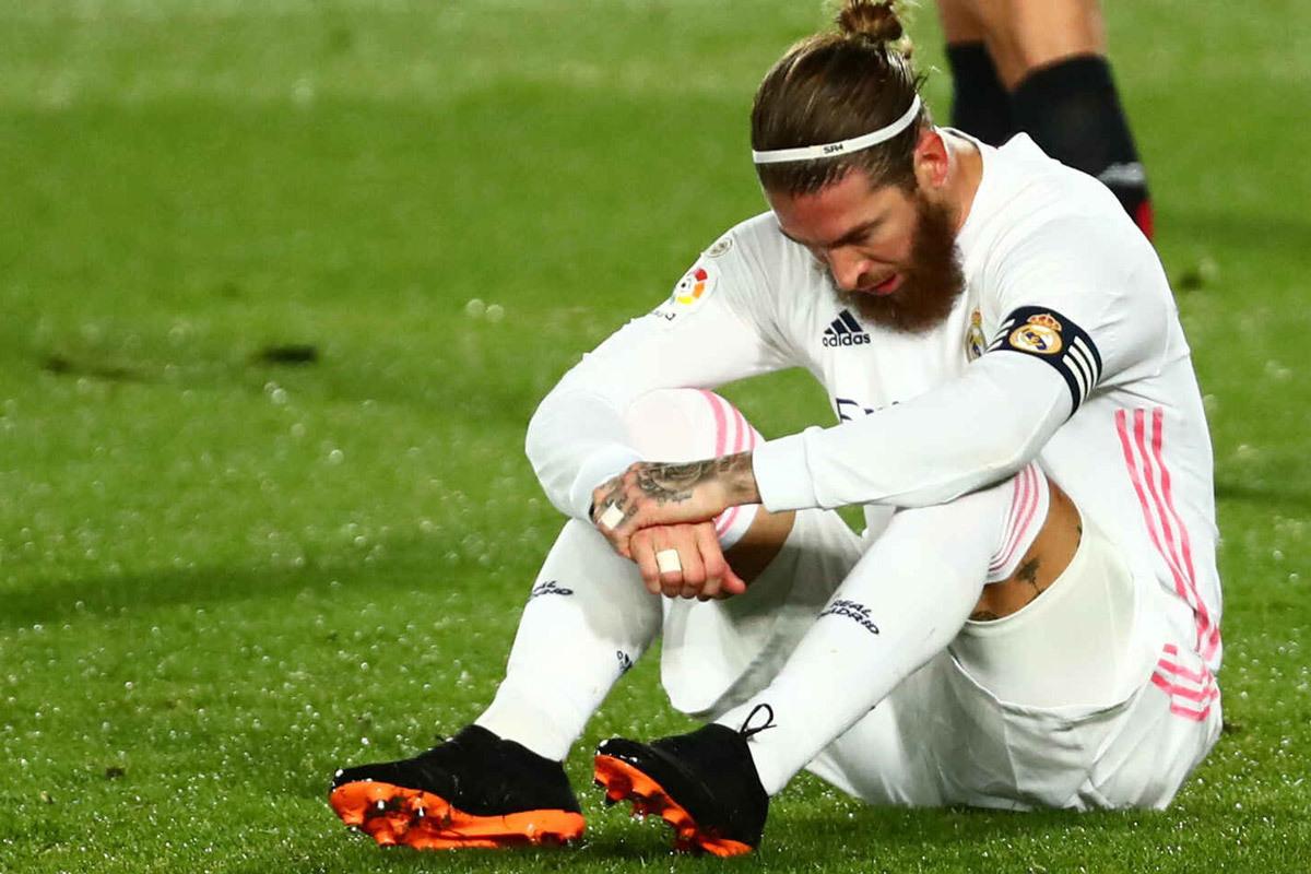 Real Madrid 'toang', Ramos nghỉ 2 tháng