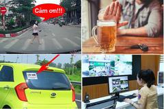 Văn hoá lái xe: Những gam màu sáng trong một năm qua