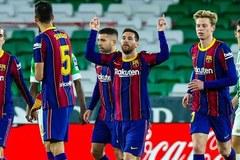 Messi lập đại công, Barca thắng kịch tính Betis
