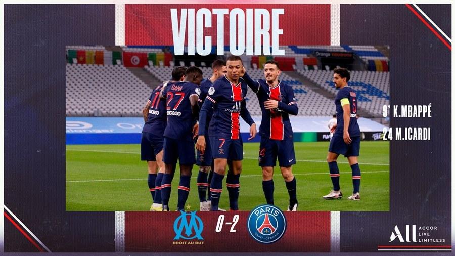 Mbappe 'xé gió' ghi bàn, PSG vững top 3