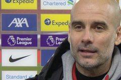 Pep Guardiola: 'Chiến thắng lớn cho Man City ở Anfield'