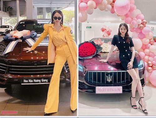 Loạt sao Việt tậu xe sang năm 2020