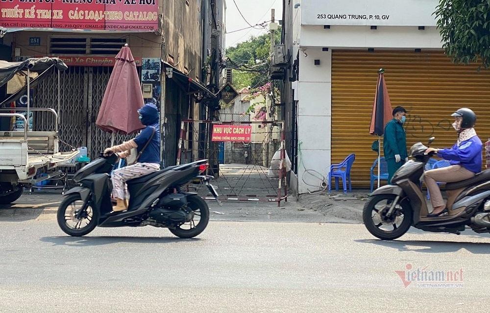 Phong tỏa thêm địa điểm mới ở quận Gò Vấp, cách ly 720 người