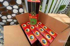 Phát hiện hàng trăm chai rượu giả nhãn hiệu sâm Ngọc Linh