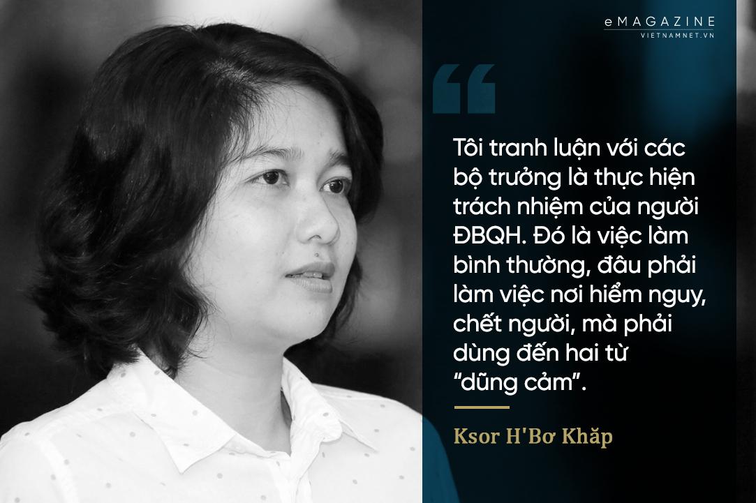 Ksor H'Bơ Khăp,Quốc hội
