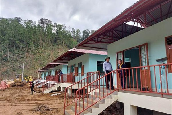 Hope for a community devastated by landslides