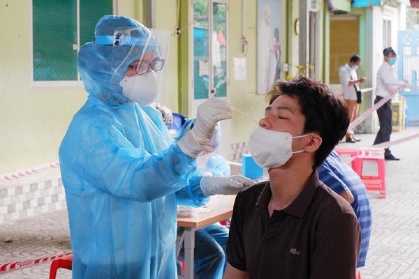 1.600 người tại khu Mả Lạng ở TP.HCM có kết quả âm tính nCoV