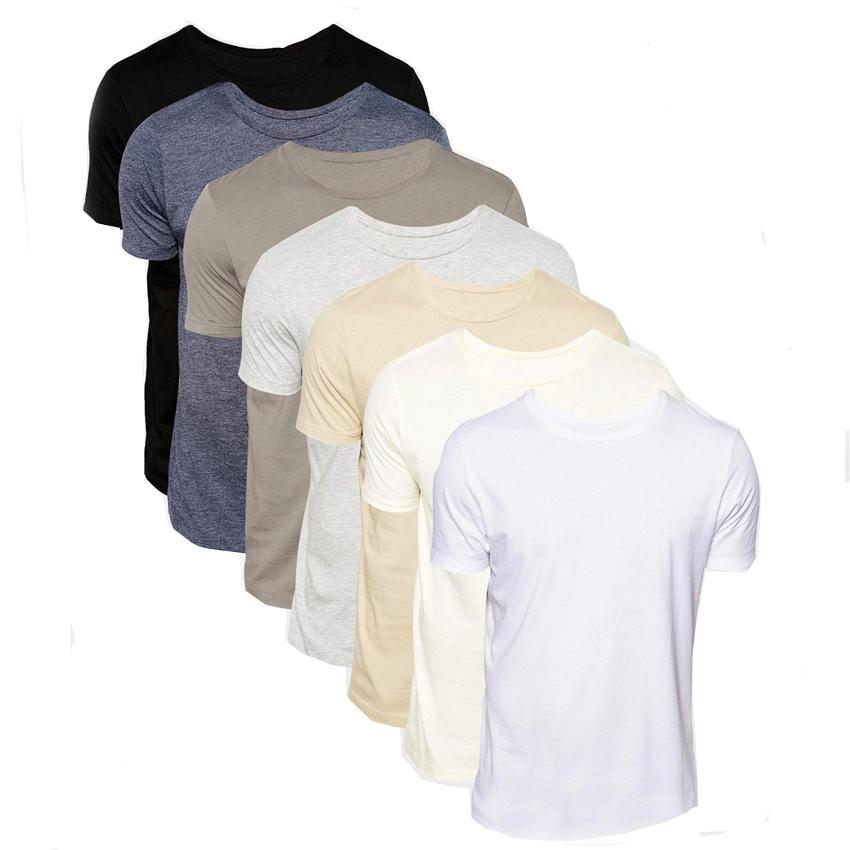Bộ 7 áo cotton tay ngắn