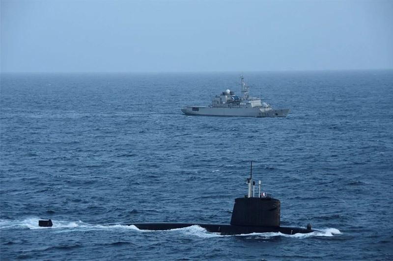Pháp điều tàu ngầm tấn công hạt nhân đến Biển Đông