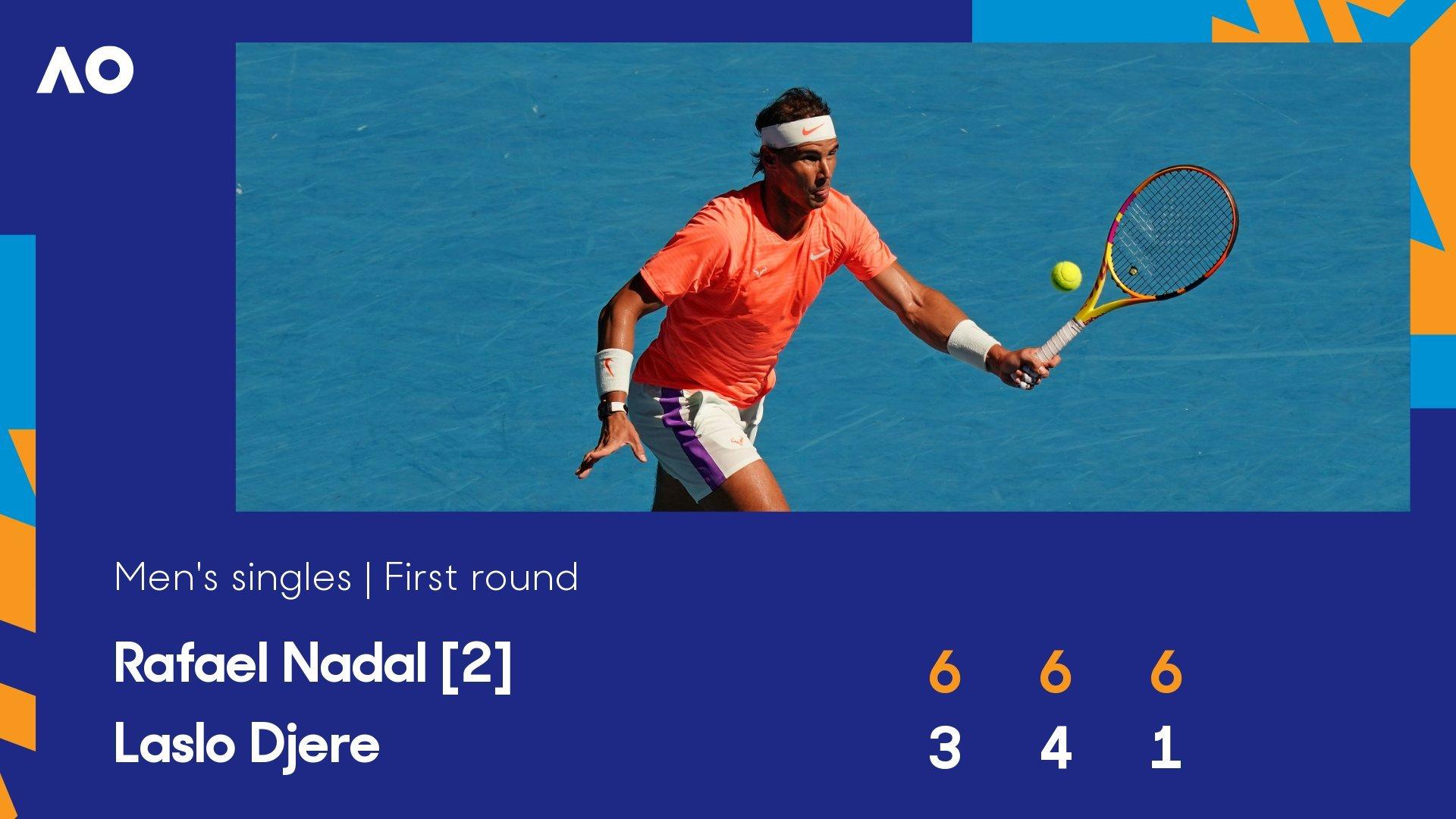 Australian Open ngày 2: Nadal ra quân thuận lợi