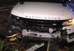 Xe sang Range Rover nát đầu bị chủ bỏ rơi sau tai nạn