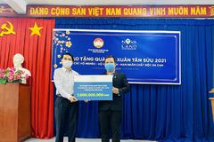 Nova Group 'mang Tết' đến các hoàn cảnh khó khăn ở Đồng Nai
