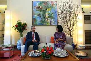 French Ambassador: Walking to see Hanoi during New Year days is 'fantastic'