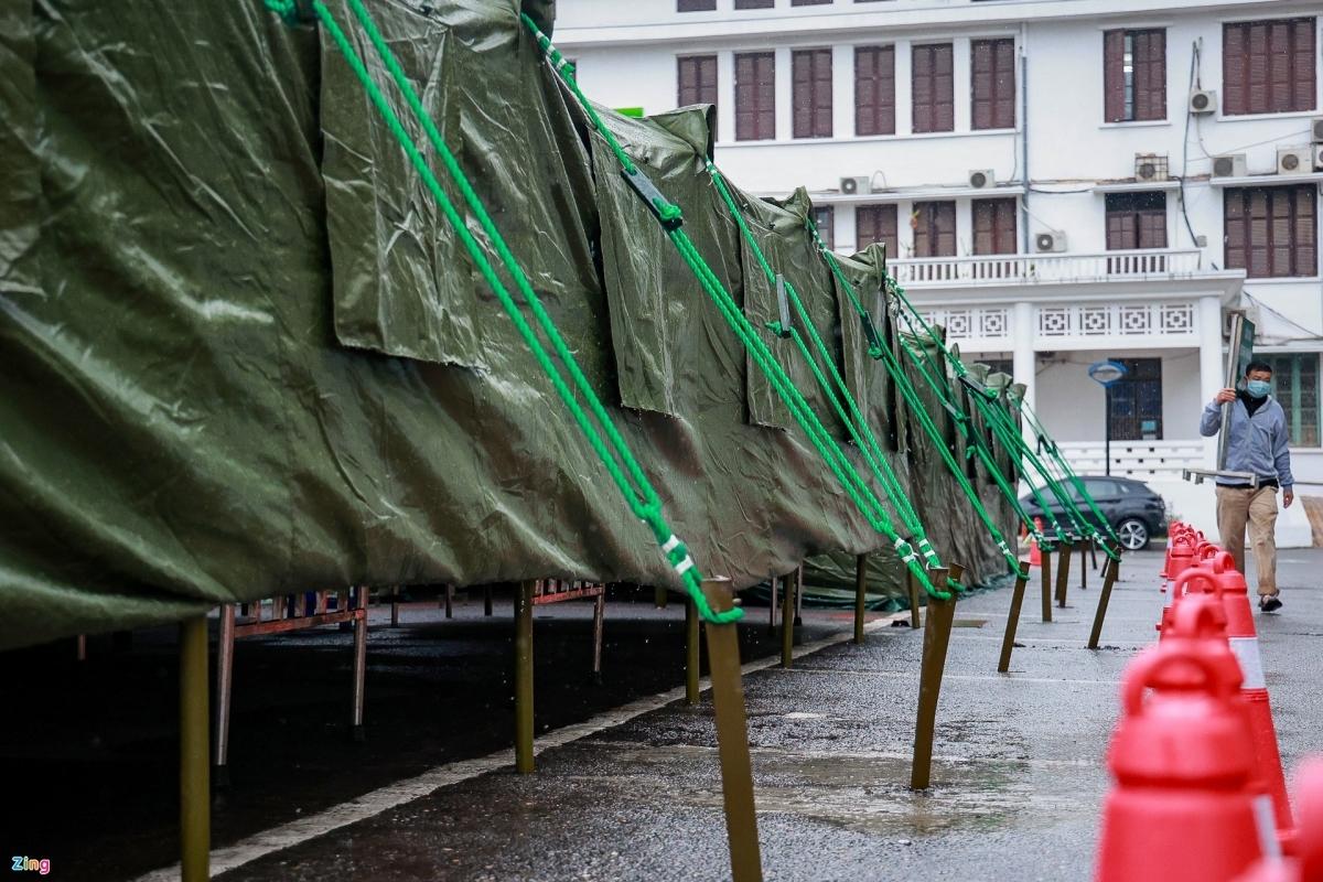Hanoi field hospital,covid news in vietnam
