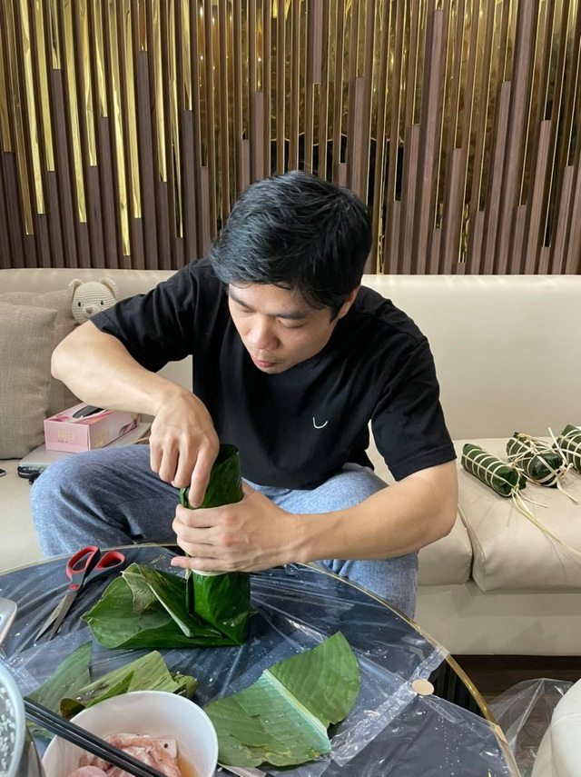 Lee Nguyen eagerly welcomes the Vietnamese New Year, wishes special wishes