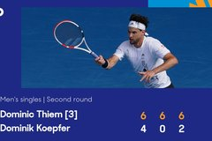 Dominic Thiem nhẹ lướt vào vòng 3 Australian Open