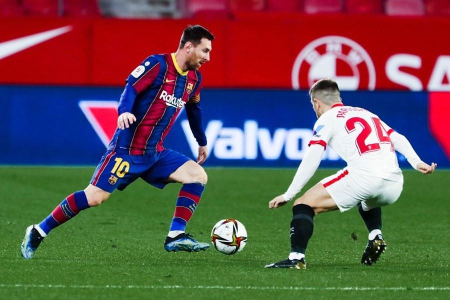 Barcelona thua trắng Sevilla bởi người cũ
