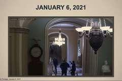 Đoạn phim chưa từng công bố về cuộc bạo loạn ở Quốc hội Mỹ