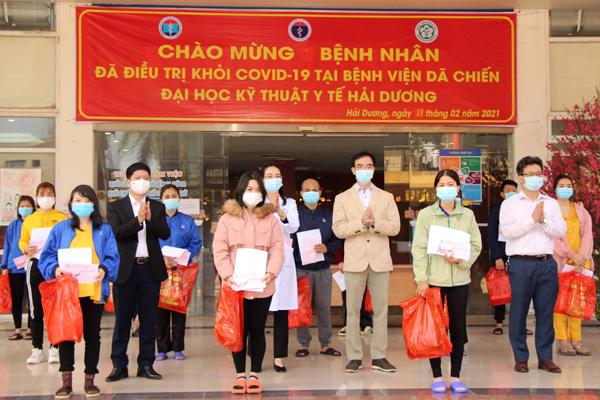 30 Tết, 27 bệnh nhân Covid-19 tại Hải Dương được công bố khỏi bệnh