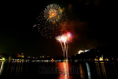 Hanoi to let off fireworks at one place